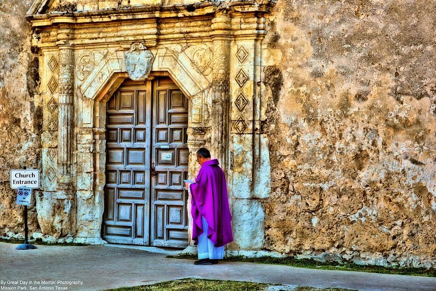 San Antonio Photograph - Mission Park San Antonio Texas by Michelle and John Ressler