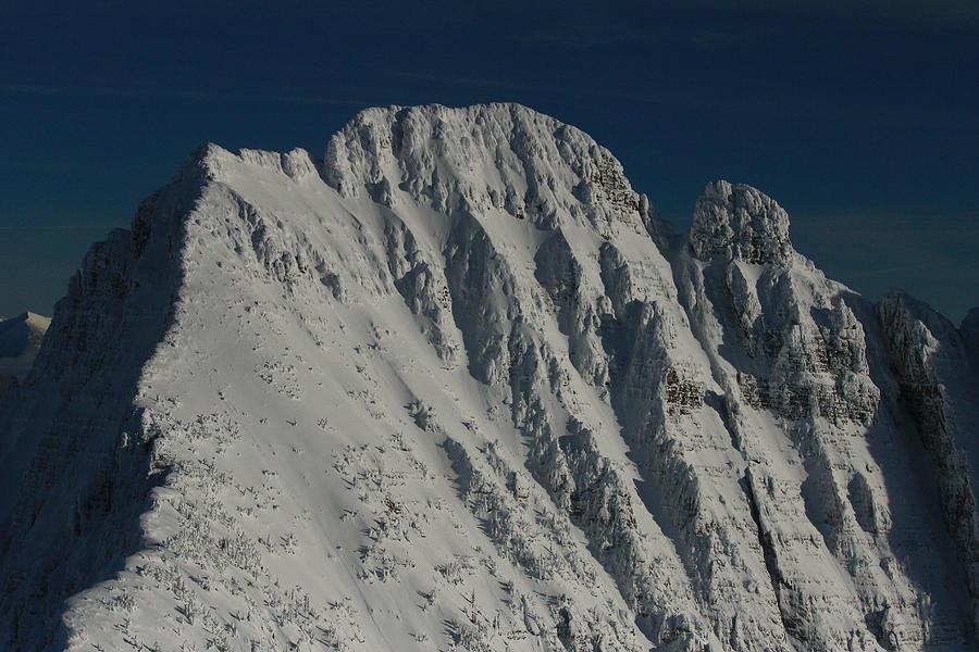 Mountain Peak Photograph - Mission Range Summit by Jim Cotton