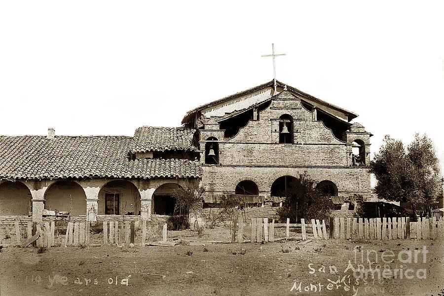 Mission San Antonio De Padua California Circa 1881