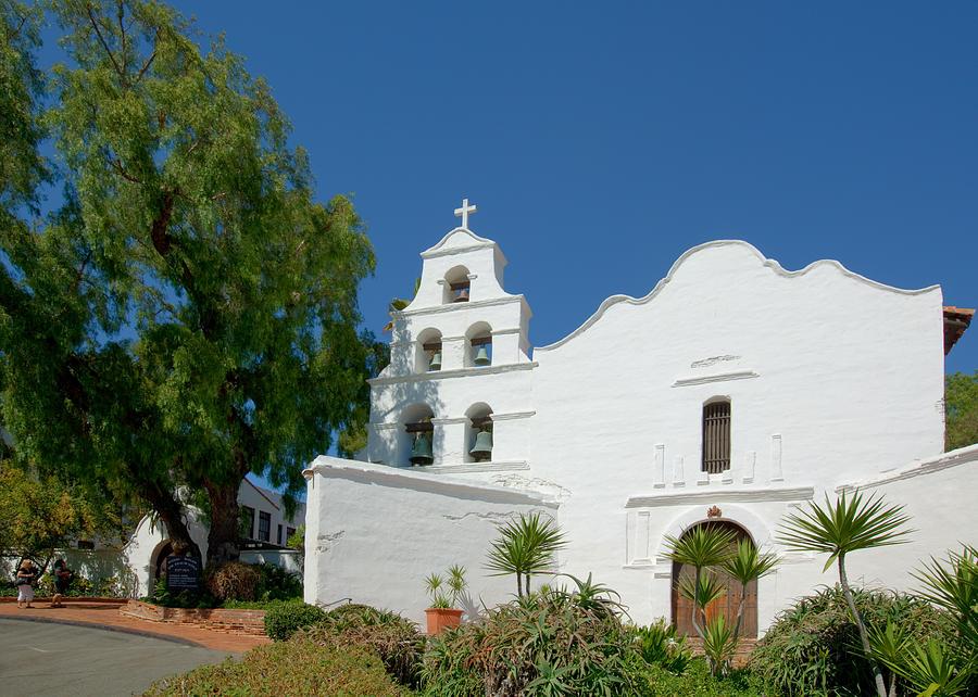 Mission San Diego De Alcala Photograph By Ram Vasudev