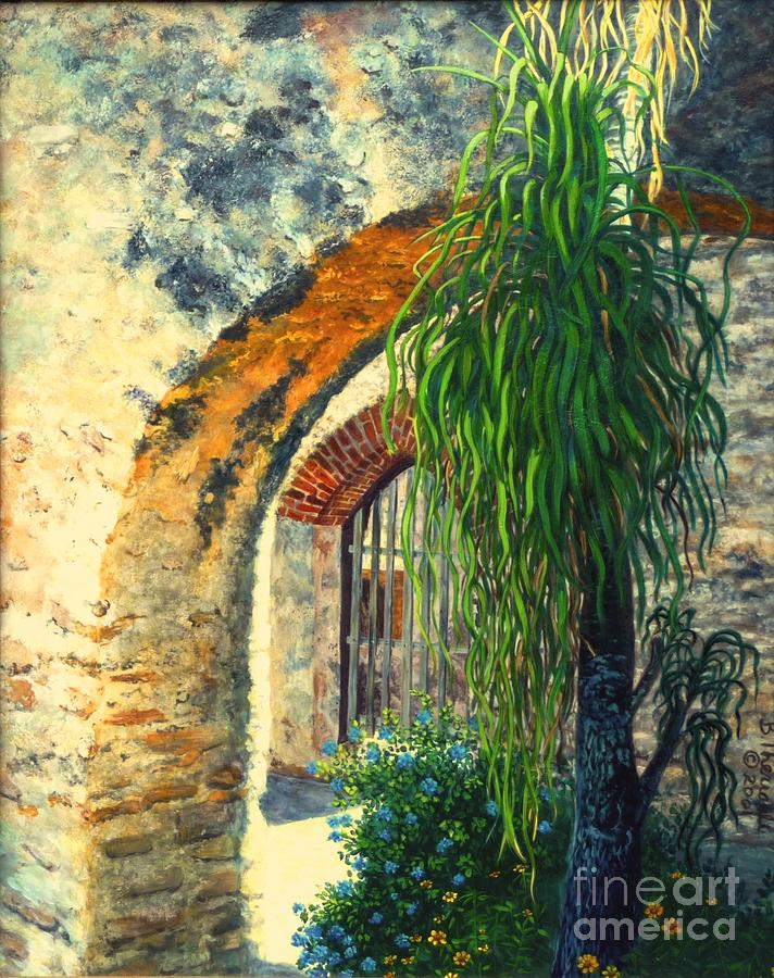 Mission Painting - Mission San Jose by Beverly Theriault