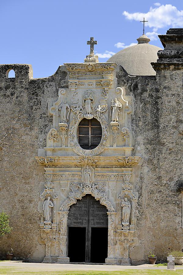 San Antonio Photograph - Mission San Jose - San Antonio Tx by Christine Till
