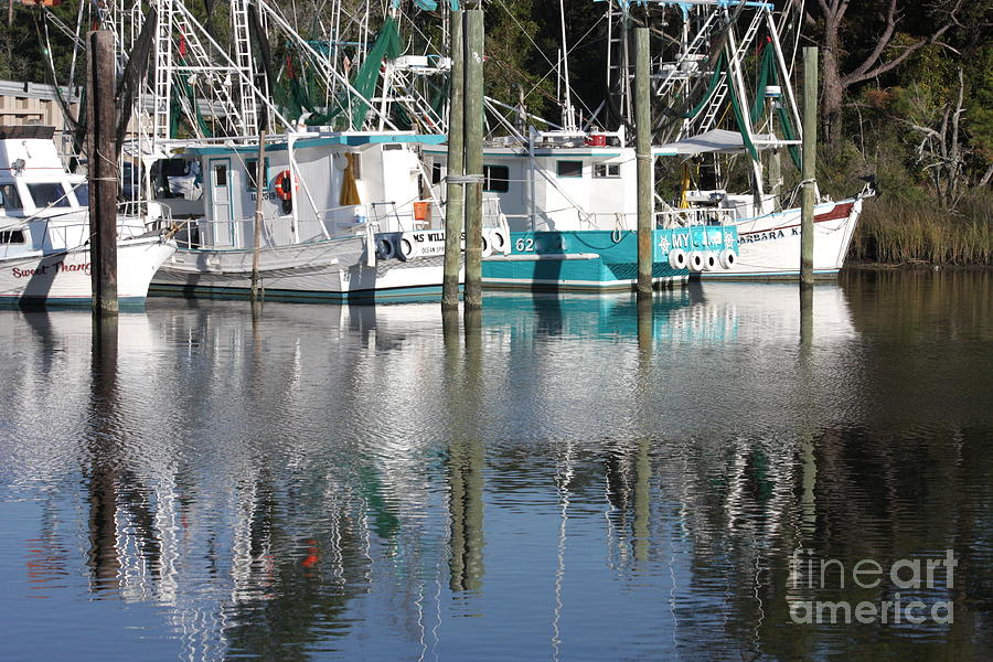 Boats Photograph - Mississippi Boats by Carol Groenen