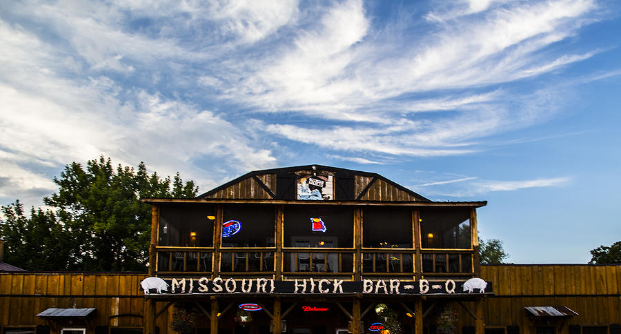 Missouri Photograph - Missouri Hick Bbq by Angus Hooper Iii