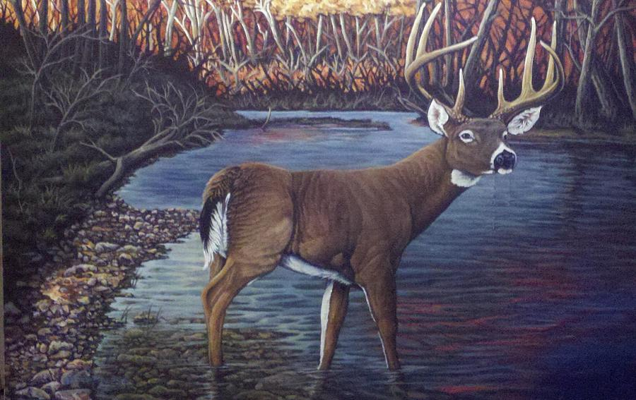 Landscape Painting - Missouri Morning by Dan Parsons