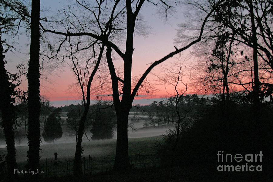 Mist At Sunset Photograph by Jinx Farmer