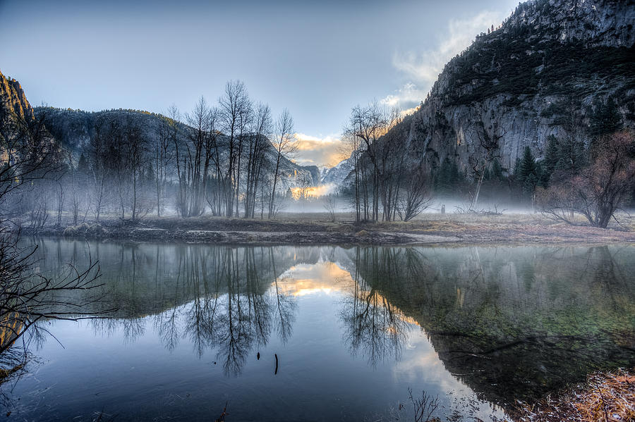 Mist in the Valley by Mike Lee