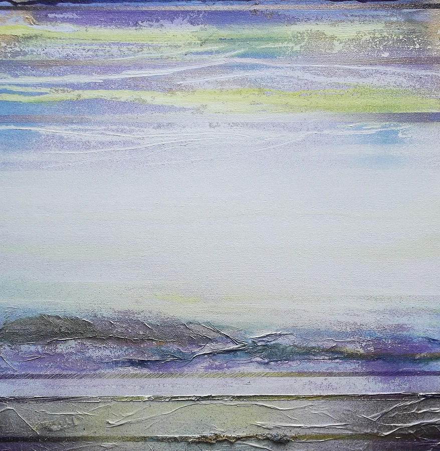 Landscape Mixed Media - Mist On The Beacon Redesdale V by Mike   Bell