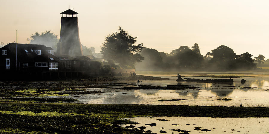 Harbour Photograph - Mist On The Morning Tide by Trevor Wintle