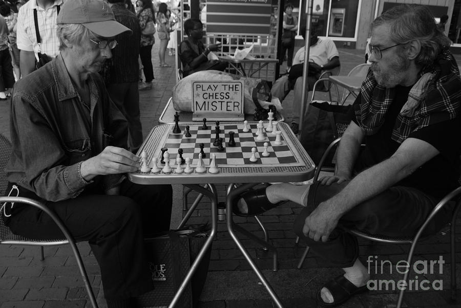 Chess Photograph - Mister by Susan Hernandez