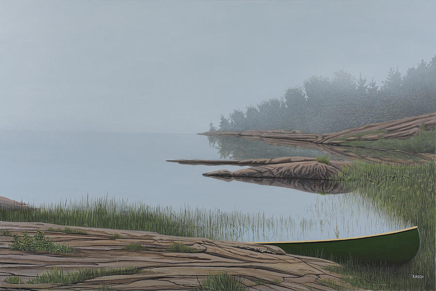 Landscapes Painting - Mistified by Kenneth M  Kirsch