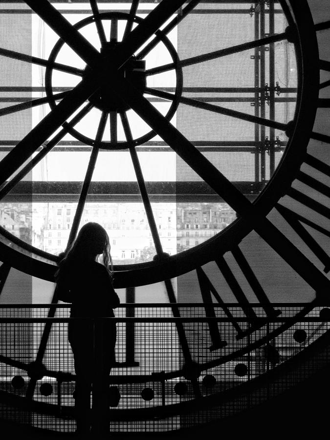 Time Photograph - Mistress Of Time Lost by Wesley S Abney