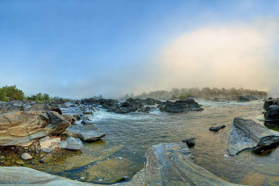 Mists Of Great Falls by Metro DC Photography