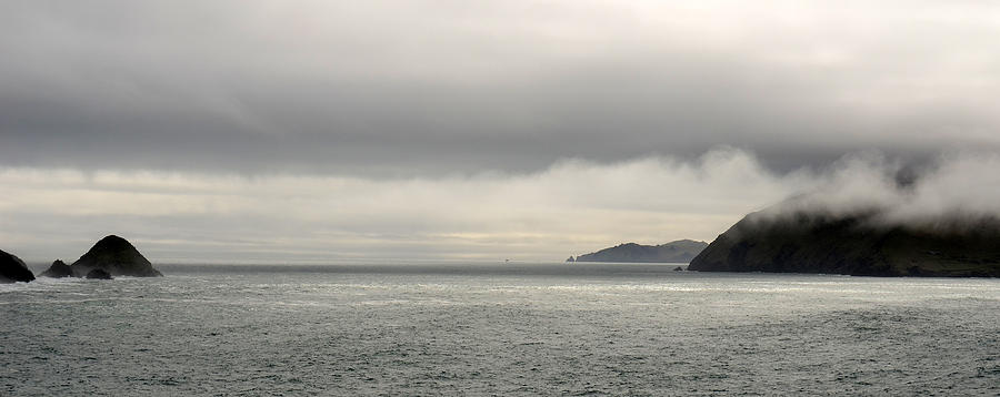 Blasket Islands Photograph - Misty Day On The Blasket Islands by Barbara Walsh