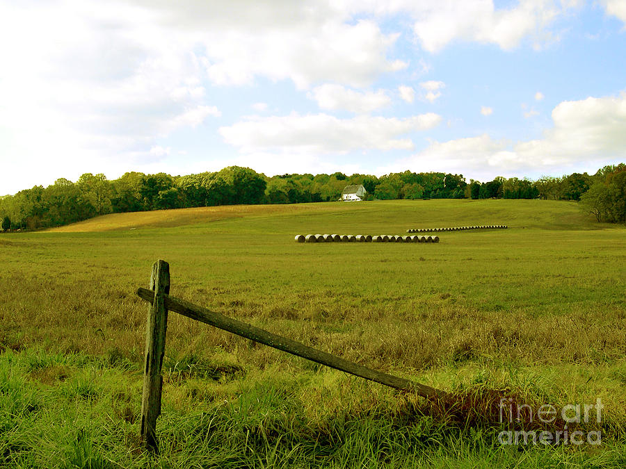 New Hope Photograph - Misty Hills Farm by Addie Hocynec