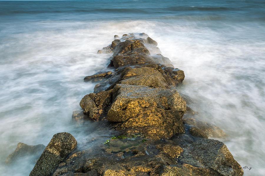 Landscape Photograph - Misty Moment by Bill Cantey