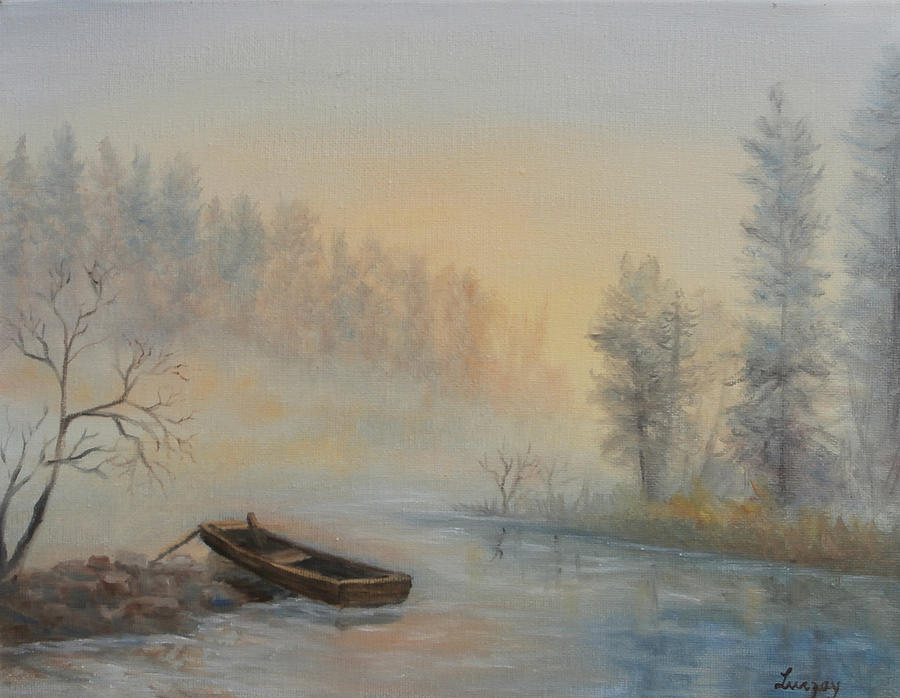 Misty Morning by Katalin Luczay