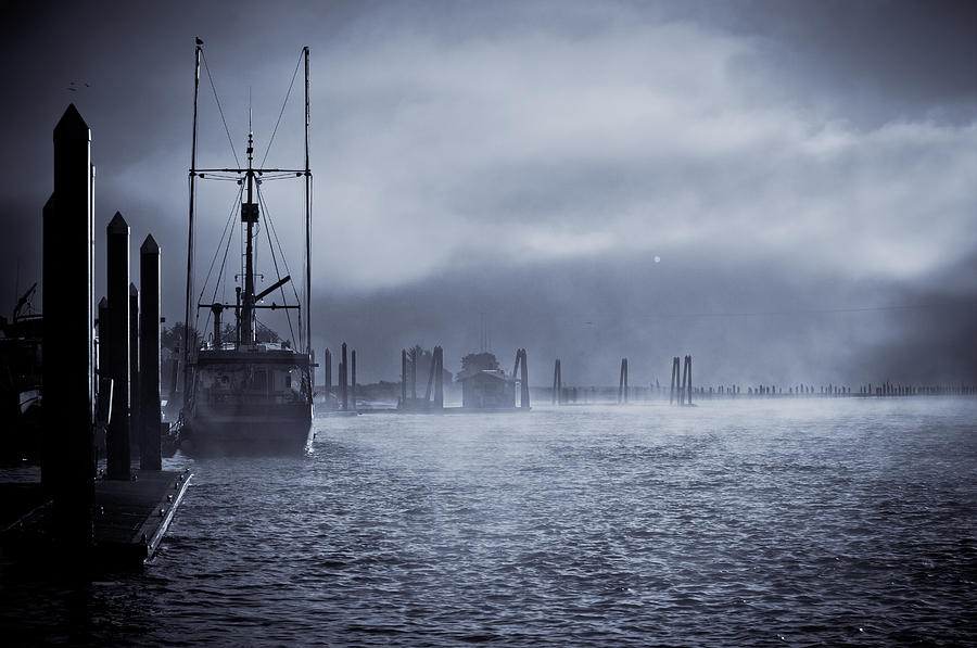 Water Photograph - Misty Morning by Michael Connor