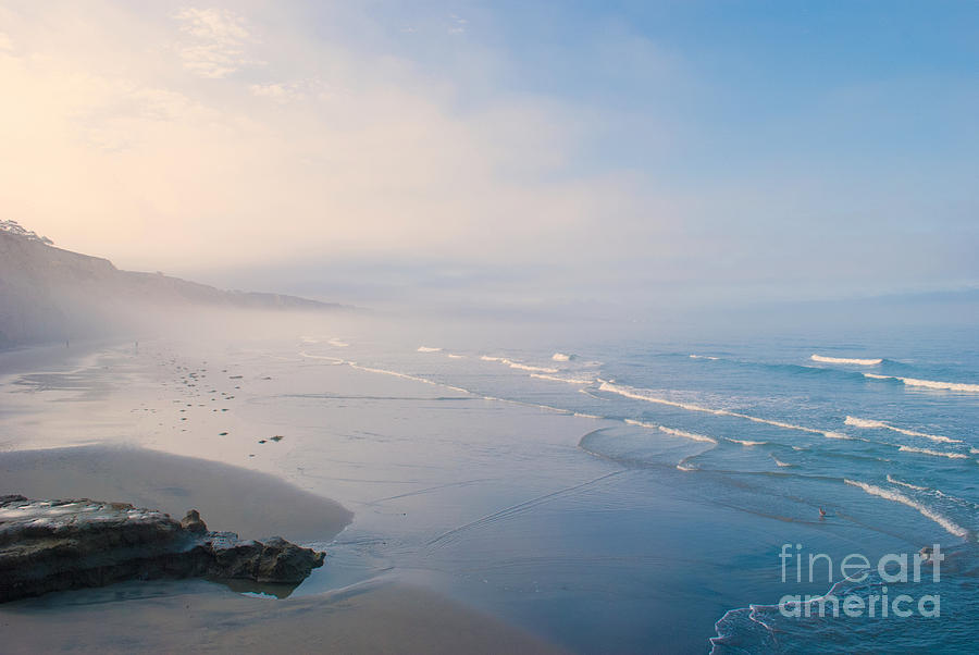 Misty Morning Tide by Anna Burdette