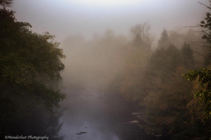 Misty Photograph - Misty Mtn. Top by Paul Herrmann