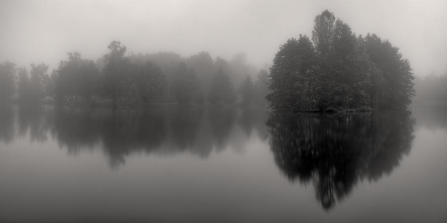 Mist Photograph - Misty Reflections by Patrick Jacquet