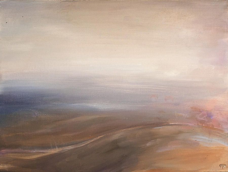 Road Painting - Misty Road by Tanya Byrd