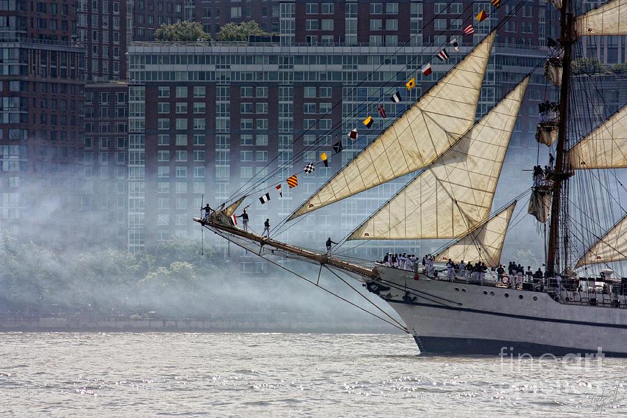 Misty Sails Photograph