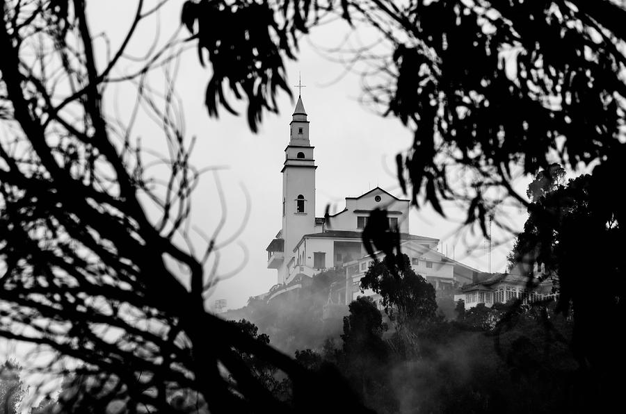 America Photograph - Misty View Of Monserrate Church by Jess Kraft