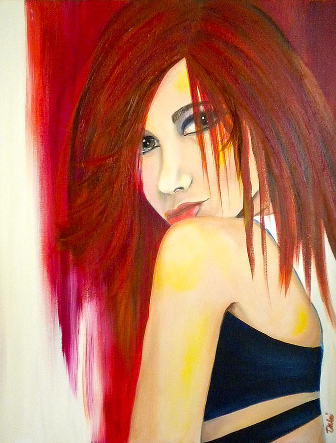 Debi Painting - Misunderstood by Debi Starr