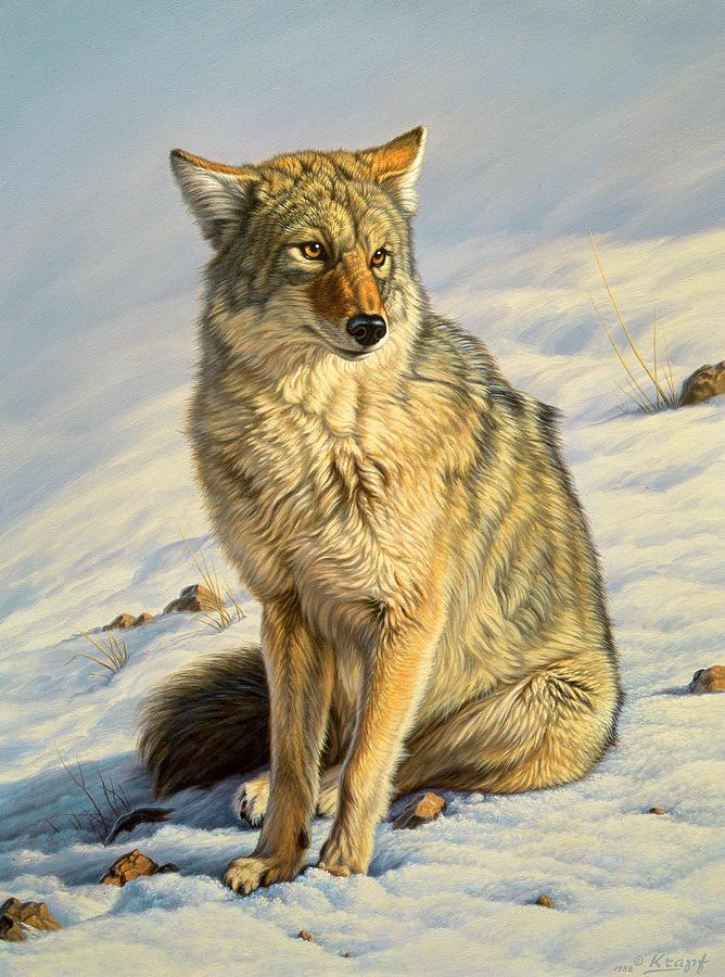 Wildlife Painting - Misunderstood by Paul Krapf