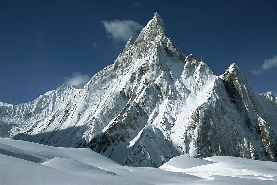 Mitre Peak At 6252 Meters Elevation Photograph by Colin Monteath