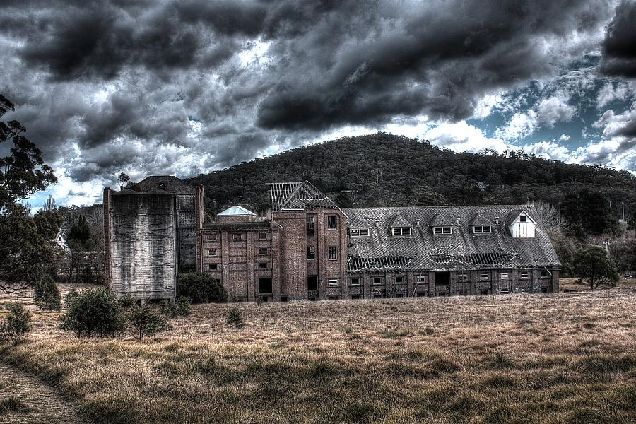 Abandoned Photograph - Mittagong Malt Factory.  by Ian  Ramsay