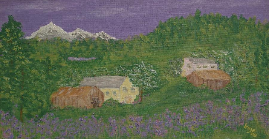 Impressionism Painting - Mittersill  Austria by Inge Lewis