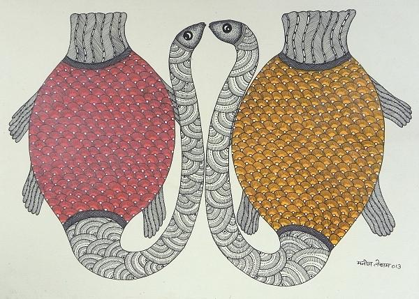 Mustart Gallery Painting - Mkt 143 by Manoj Kumar Tekam