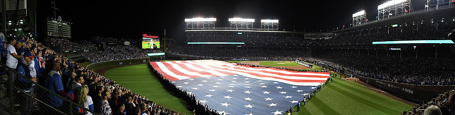 Mlb Oct 28 World Series - Game 3 - Photograph by Icon Sportswire