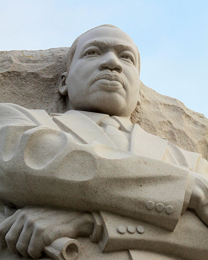 Martin Luther King Memorial Photograph - Mlk Memorial by Brian M Lumley