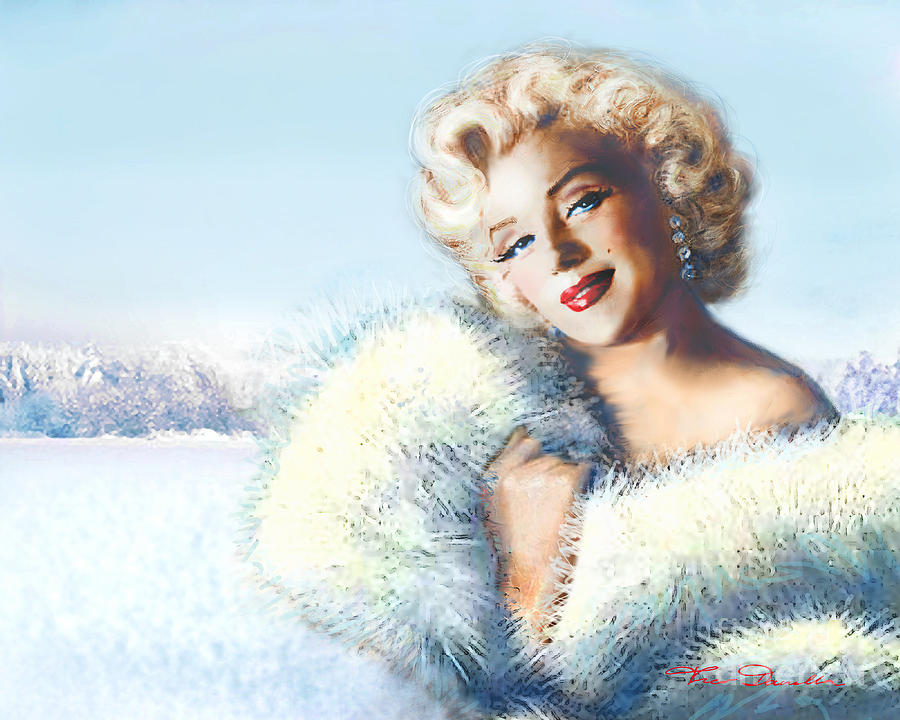 Marilyn Painting - Mm 126 D 4 by Theo Danella
