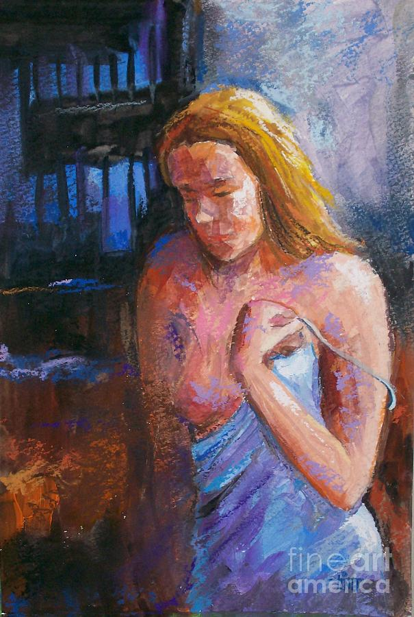 Figurative Painting - Mm Fig3 by Tina Siddiqui