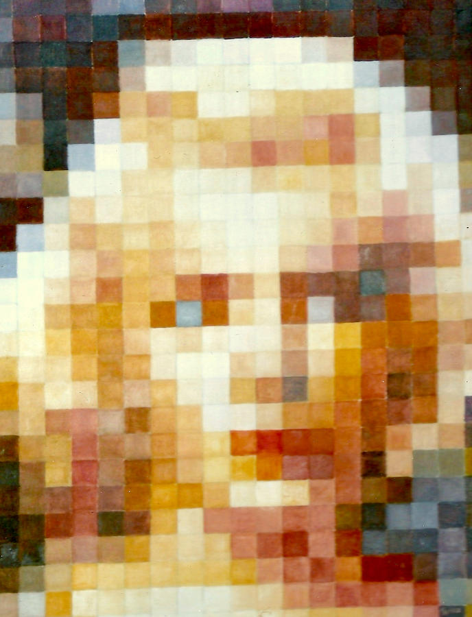 Gorecki Painting - Marylin by Henryk Gorecki