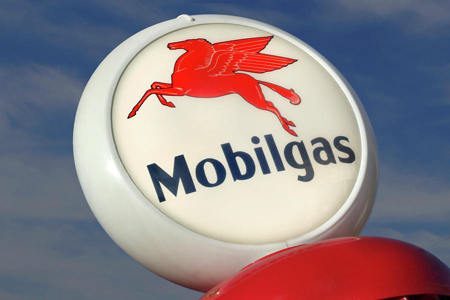 Mobilgas Photograph - Mobilgas Globe by Mike McGlothlen