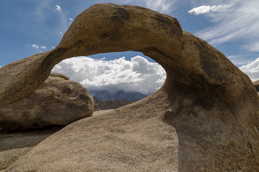 Alabama Hills Photograph - Mobius Arch by Mike Herdering