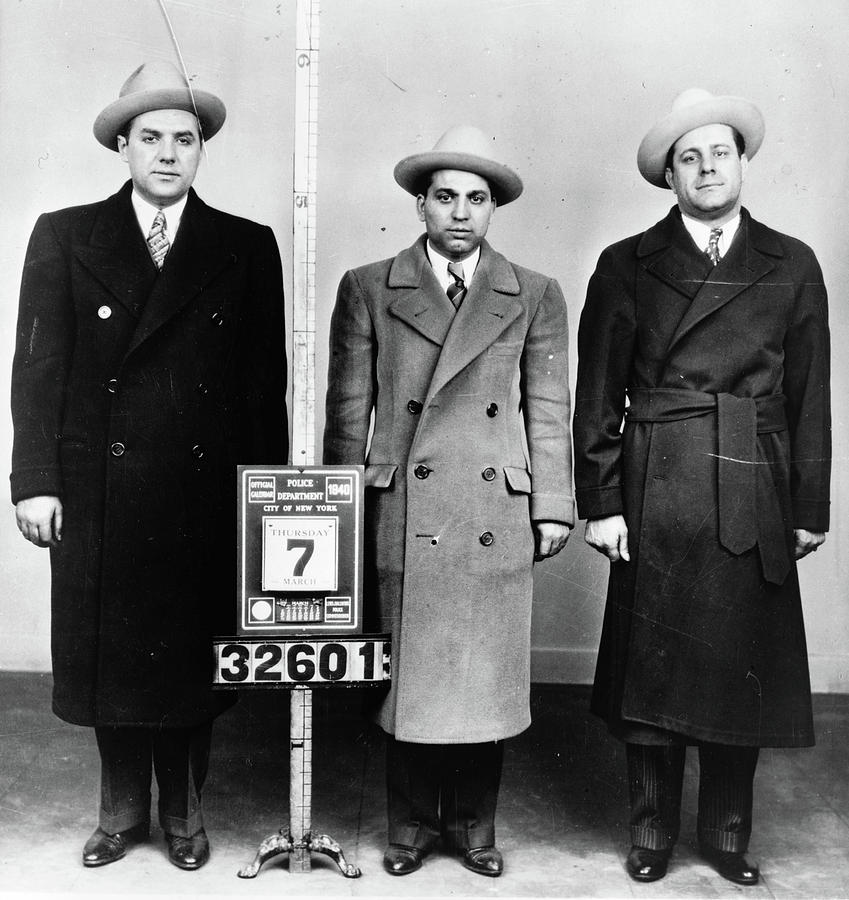 1940 Photograph - Mobsters, 1940 by Granger