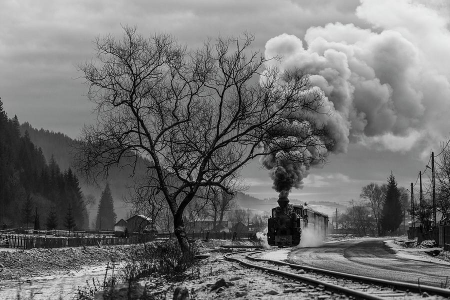 Landscape Photograph - Mocanita Hutulca by Sveduneac Dorin Lucian