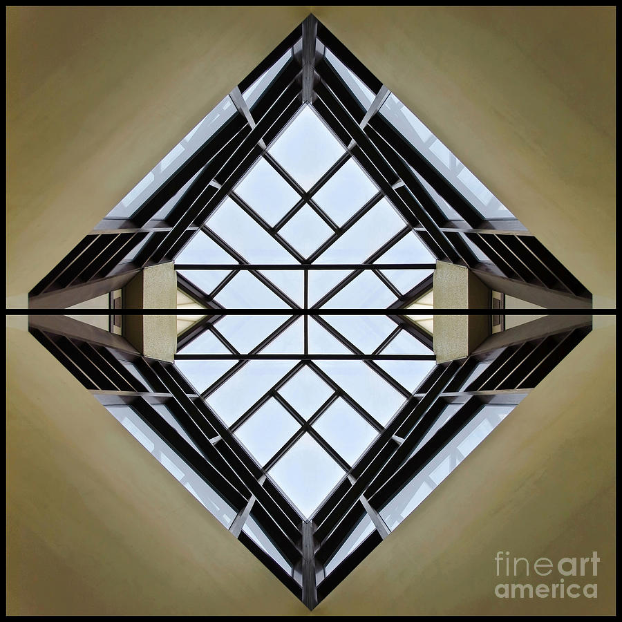 Abstract Photograph - Modal Logic by Charles Dobbs