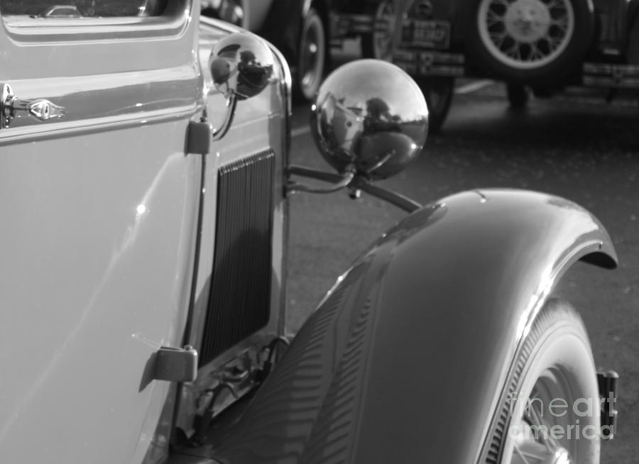 Model A Cars Photograph - Model A Fender by Connie Mueller