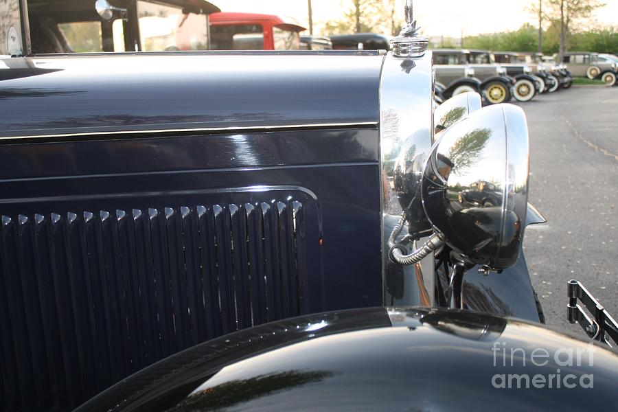 Model A Cars Photograph - Model A Reflections by Connie Mueller