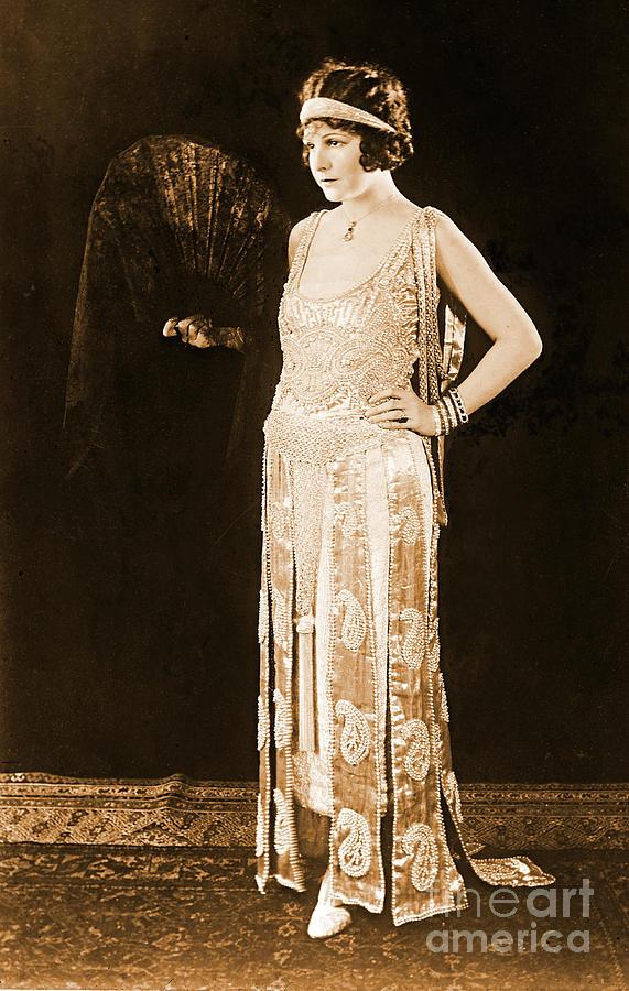 Women Photograph - Model Norma Talmadge 1920 by Padre Art