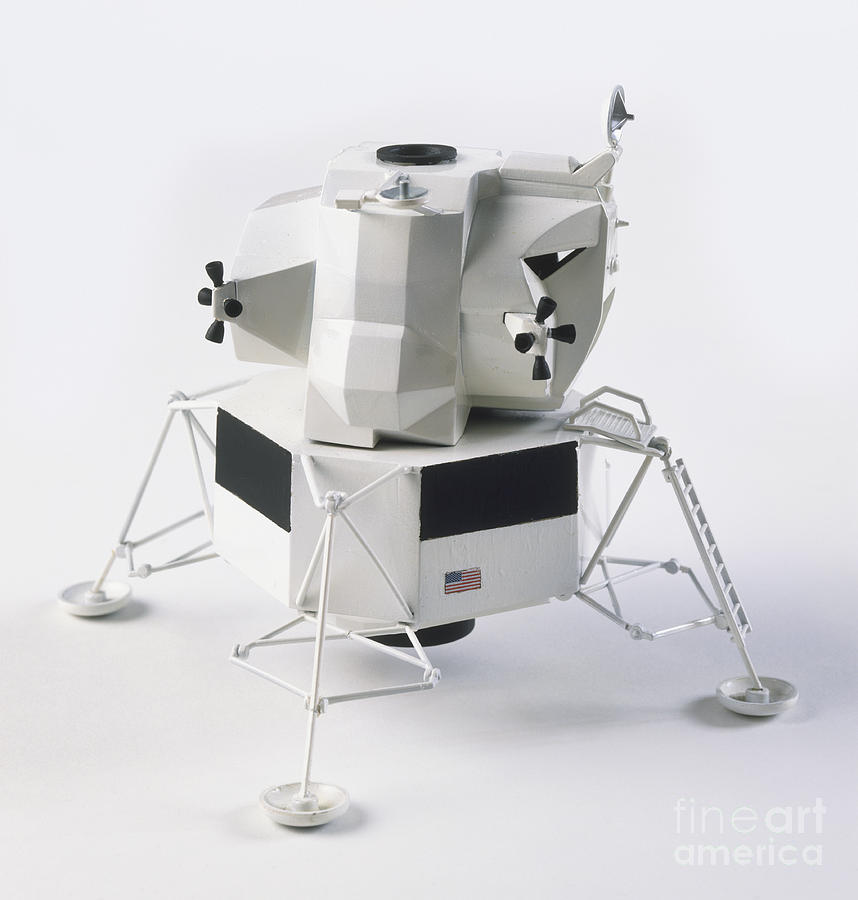 1969 Photograph - Model Of The Apollo 9 Lunar Module by James Stevenson / Dorling Kindersley / Science Museum, London