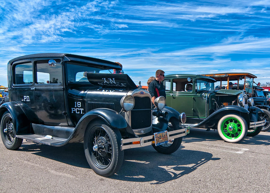 Ford Photograph - Model T Fords by Steve Harrington