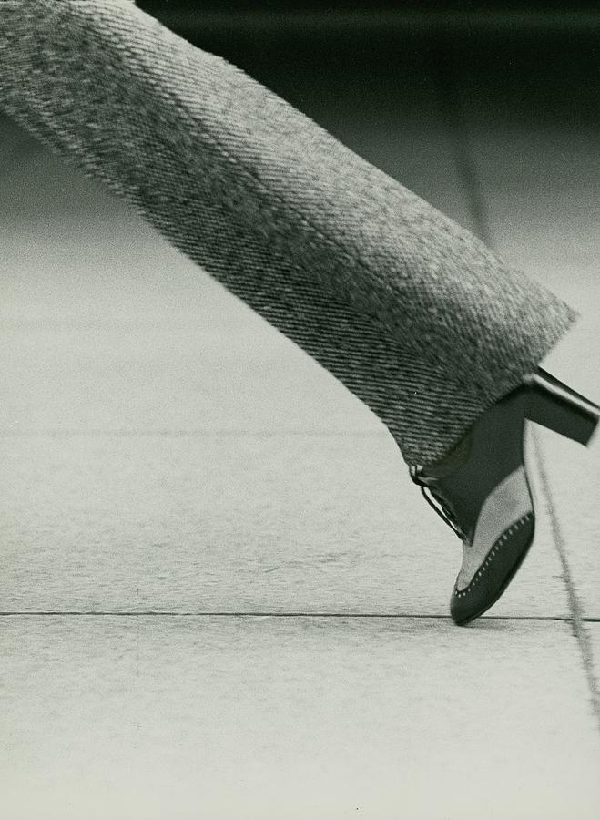 Models Foot Wearing David Evins Heels Photograph by Kourken Pakchanian